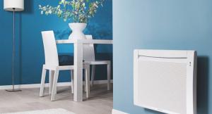 Illustration d'un radiateur électrique à panneau rayonnant ou radian