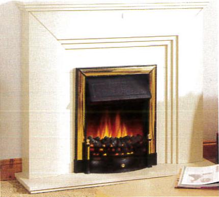 Foyer de cheminée traditionnel