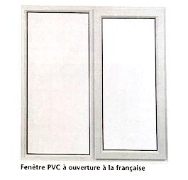 Illustration d'une fenêtre à ouverture à la française