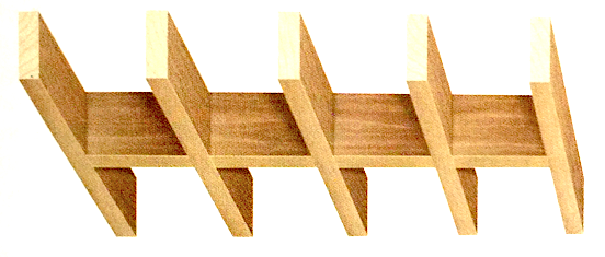 Illustration d'un plafond à ossature bois