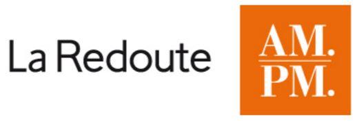 Références - Logo LA REDOUTE AM-PM