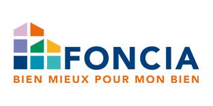 """Références - Logo FONCIA comprenant le slogan """"bien mieux pour mon bien"""""""
