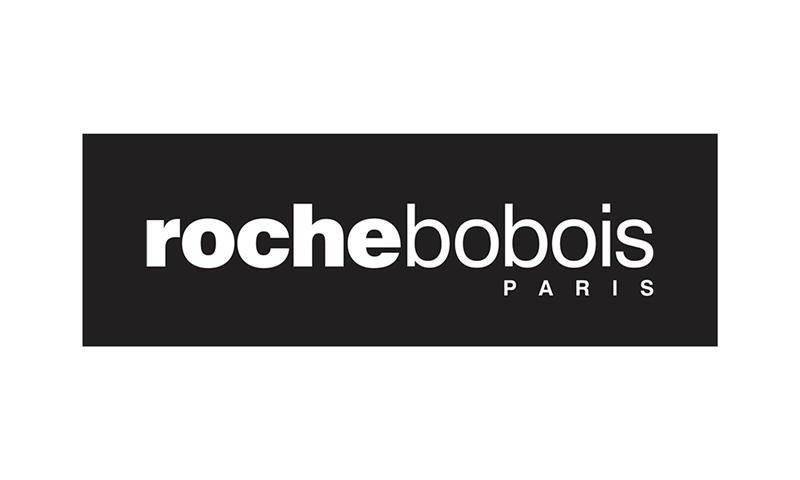 """Références - Logo ROCHEBOBOIS comprenant le slogan """"Paris"""""""