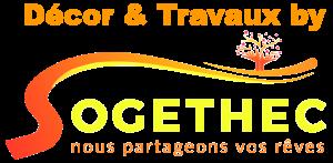 """Logo SOGETHEC comprenant le slogan """"nous partageons vos rêves"""""""