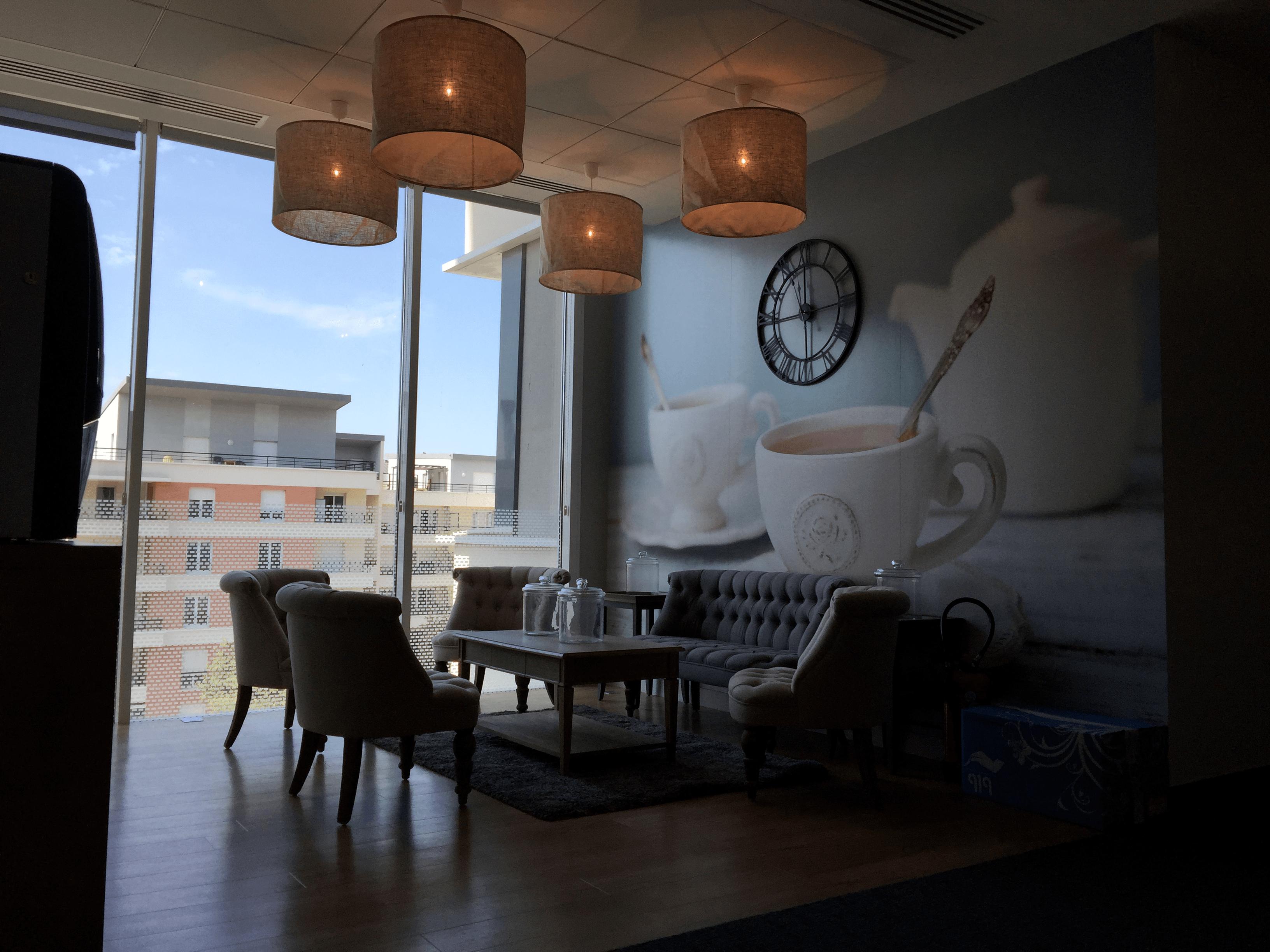 Références - Lounge CREDIT AGRICOLE